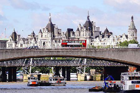 Лондон.Мост Ватерлоо